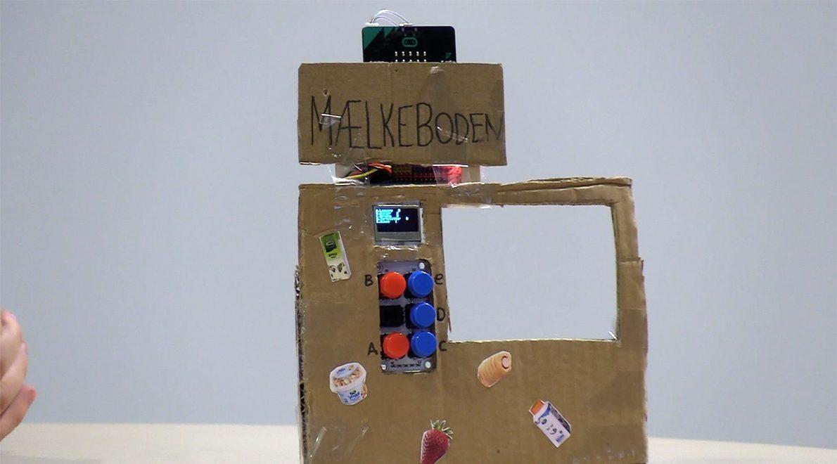 Elever laver IoT-løsninger i folkeskolen