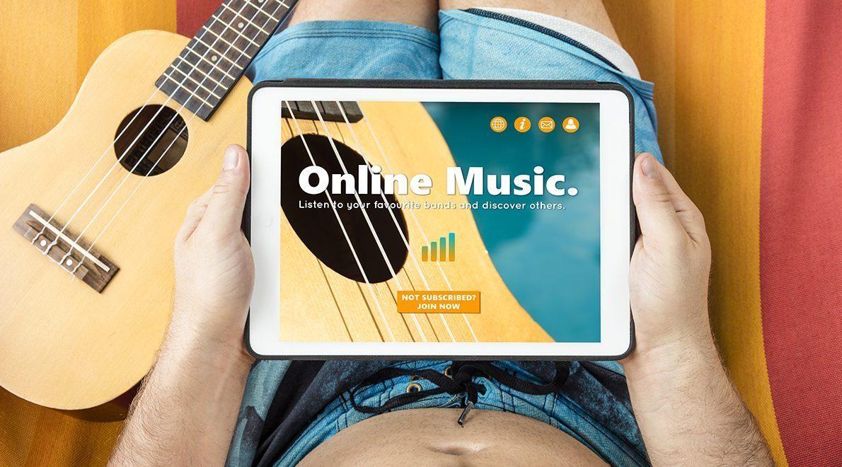 Rekordomsætning på streaming og musik