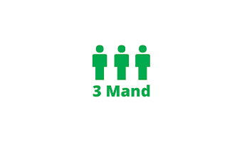 3 Mand ApS Logo