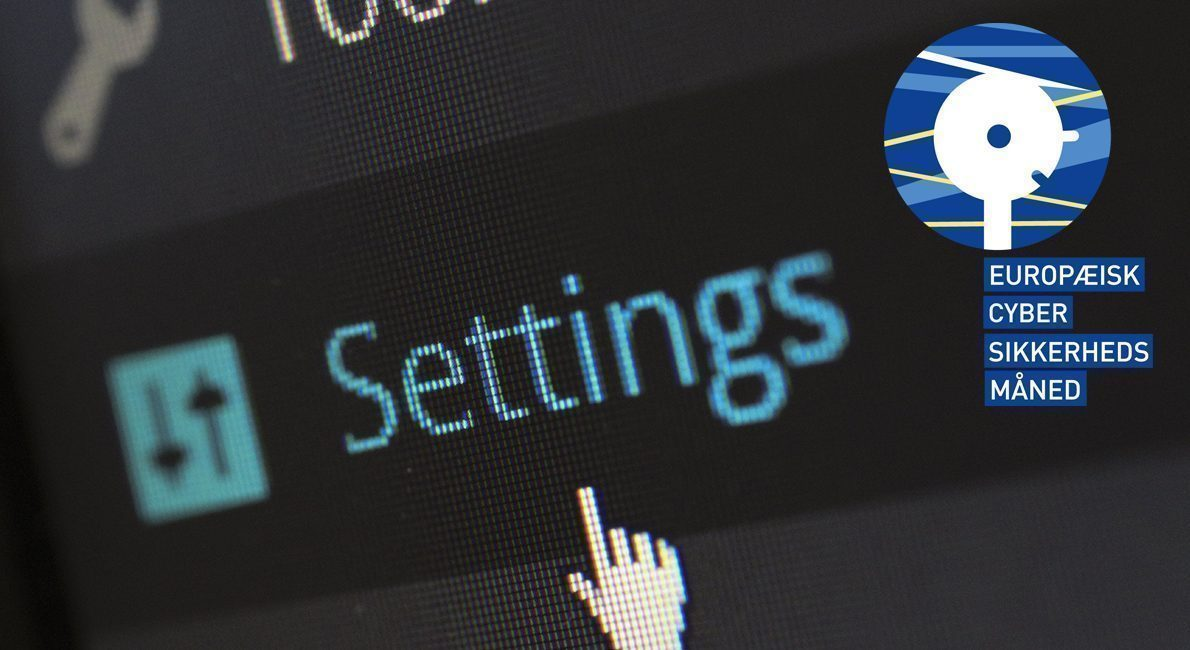 En måned med fokus på cybersikkerhed