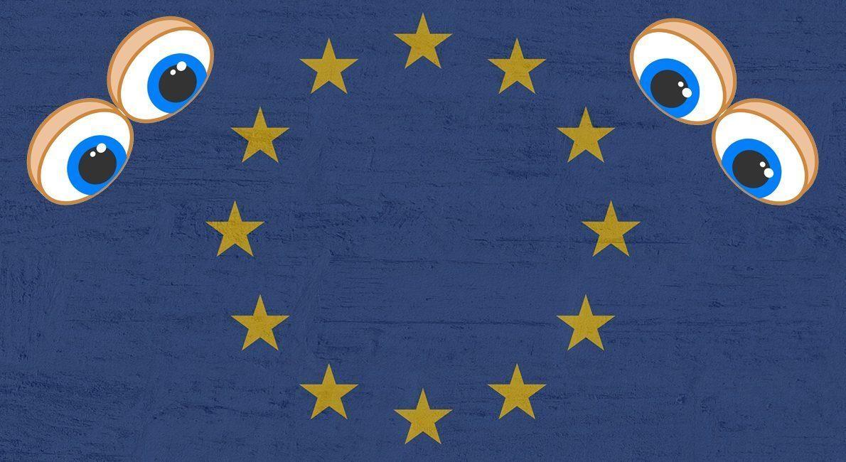 Øjnene er også vendt mod Europa