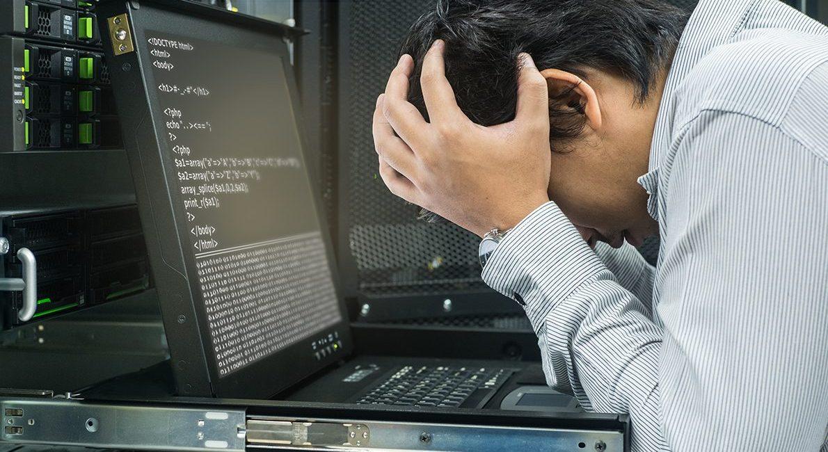 Driftstab grundet kodefejl?