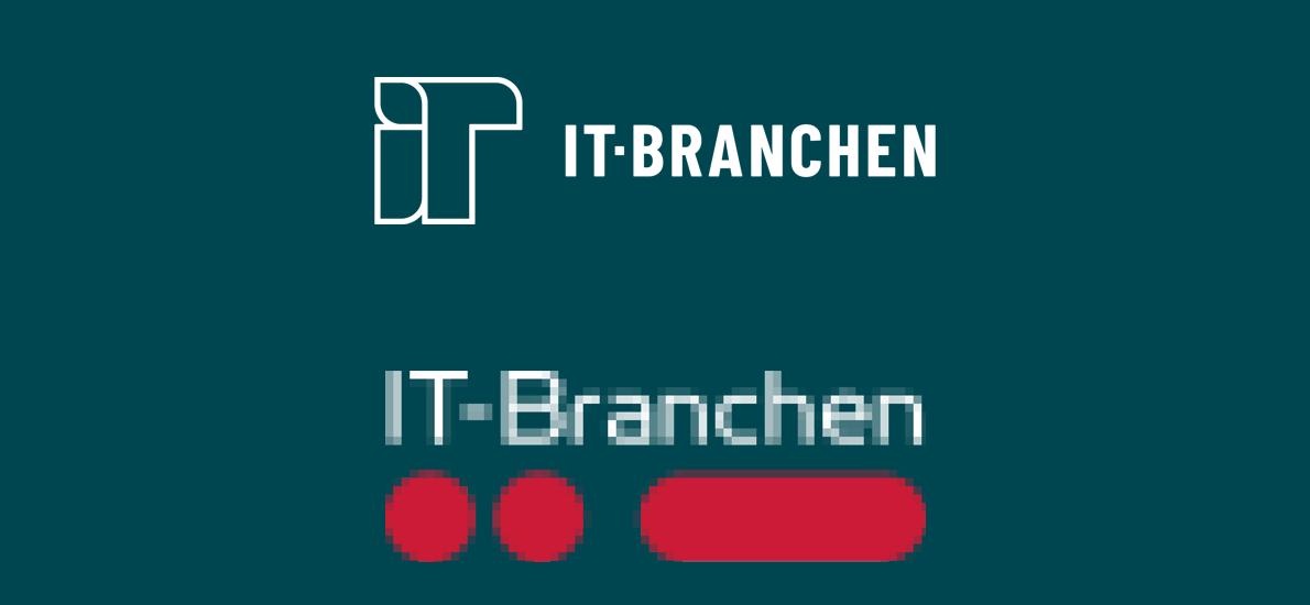 IT-Branchen skifter logo og visuel identitet